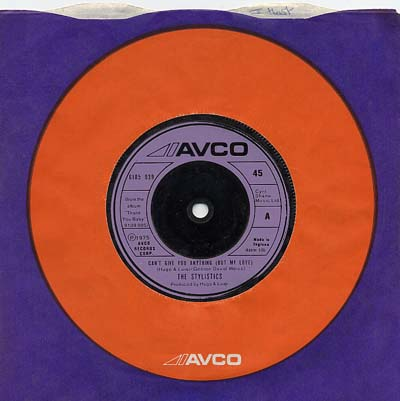 Stylistics - Can't Give You Anything (But My Love) - Sleeve image