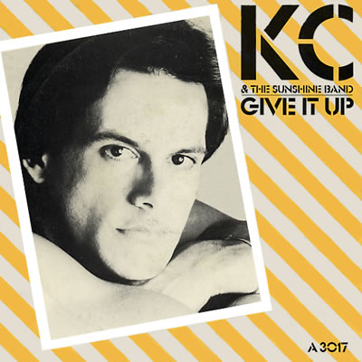KC and the Sunshine Band - Give It Up - Sleeve image