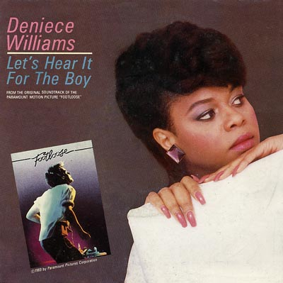 Deniece Williams - Let's Hear It For The Boy -Alternative Sleeve image