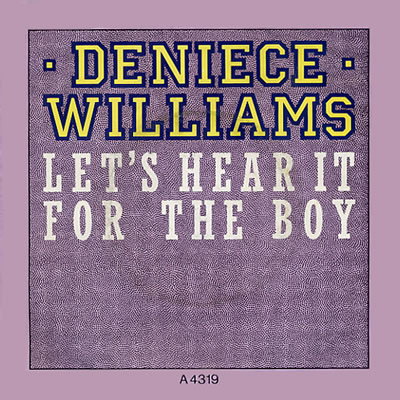 Deniece Williams - Let's Hear It For The Boy - Sleeve image