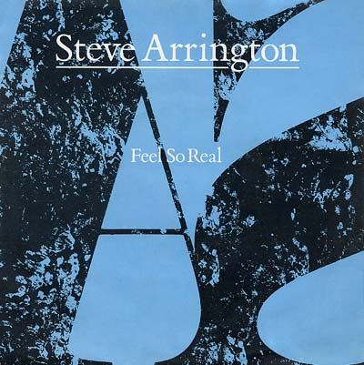 Steve Arrington - Feel So Real - Sleeve image
