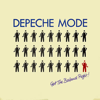 Depeche Mode - Get The Balance Right - Sleeve image