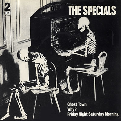 Specials - Ghost Town - Sleeve image