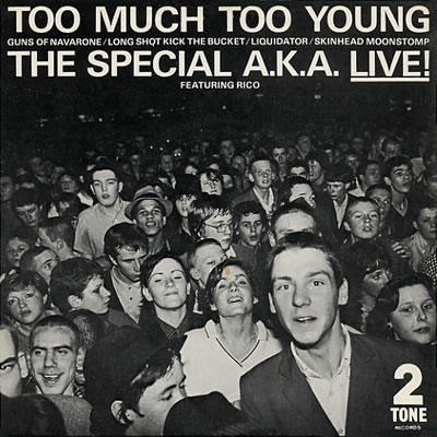 Specials - Too Much Too Young/Guns of Navarrone - Sleeve image
