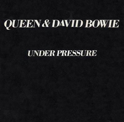 Queen and David Bowie - Under Pressure - Sleeve image