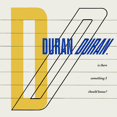 Duran Duran - Is There Something I Should Know - Sleeve image