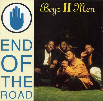 Boyz to Men - End Of The Road - Sleeve image