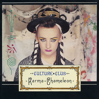Culture Club - Karma Chameleon - Sleeve image