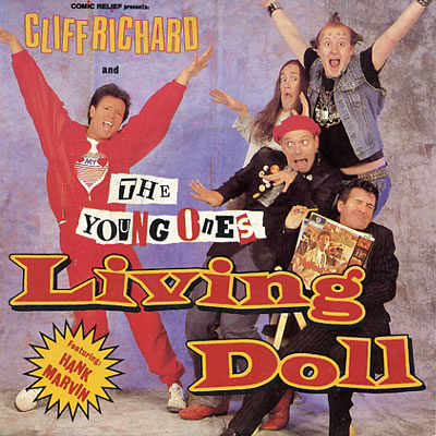 Cliff Richard and the Young Ones - Living Doll - Sleeve image